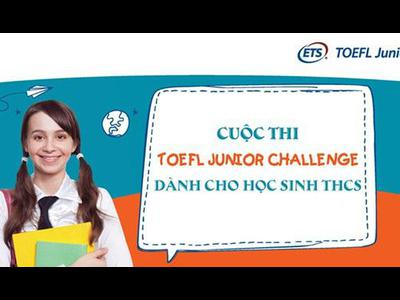 Happy School hướng dẫn dự thi TOEFL Junior dành cho học sinh THCS tại Nghệ An năm...
