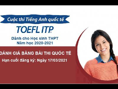 Happy School hướng dẫn dự thi TOEFL ITP dành cho học sinh THPT tại Nghệ An năm...