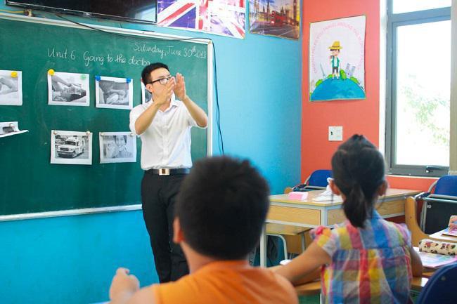 Hãy để con bạn khám phá thế giới tuyệt vời của ngôn ngữ tiếng Anh