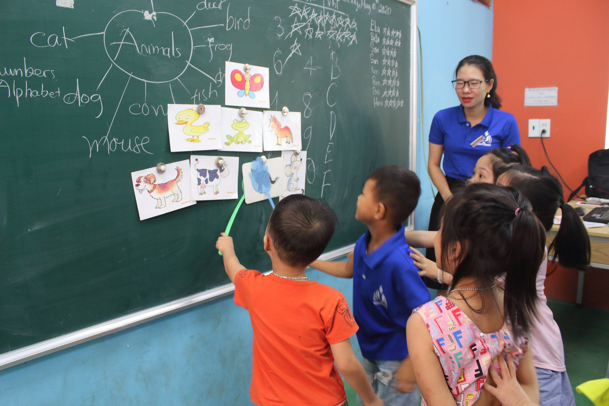 Dạy tiếng Anh cho trẻ 5 tuổi bằng phương pháp nào hiệu quả nhất