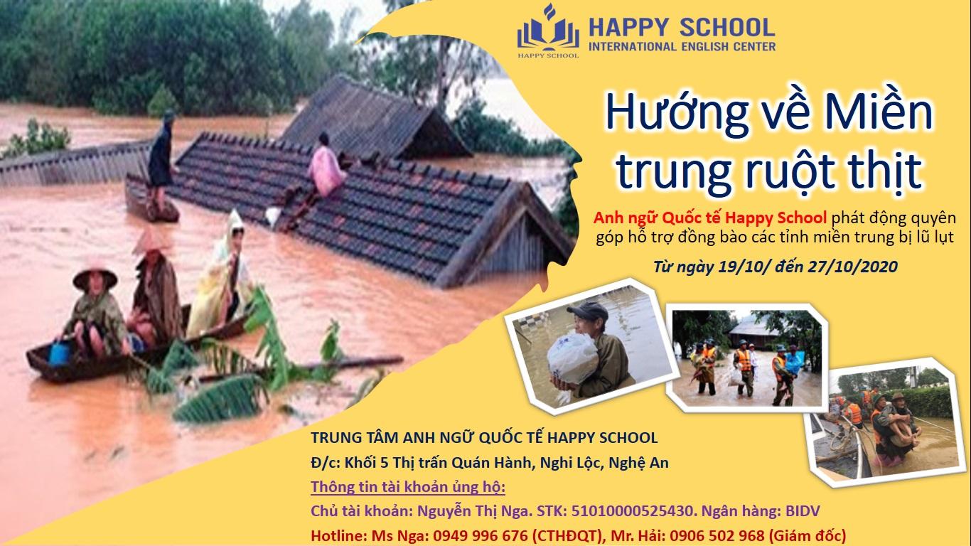 Cùng Happy School hướng về miền Trung