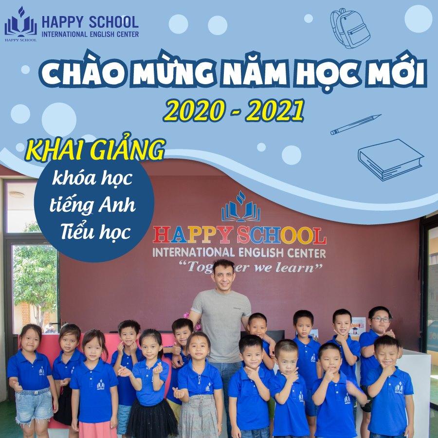 Happy School khai giảng khóa học mới năm học 2020 - 2021