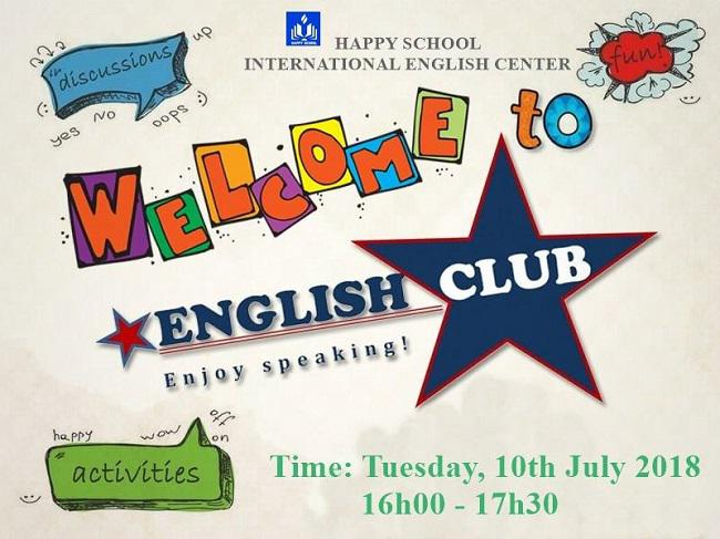 Welcome To Happy School English Club