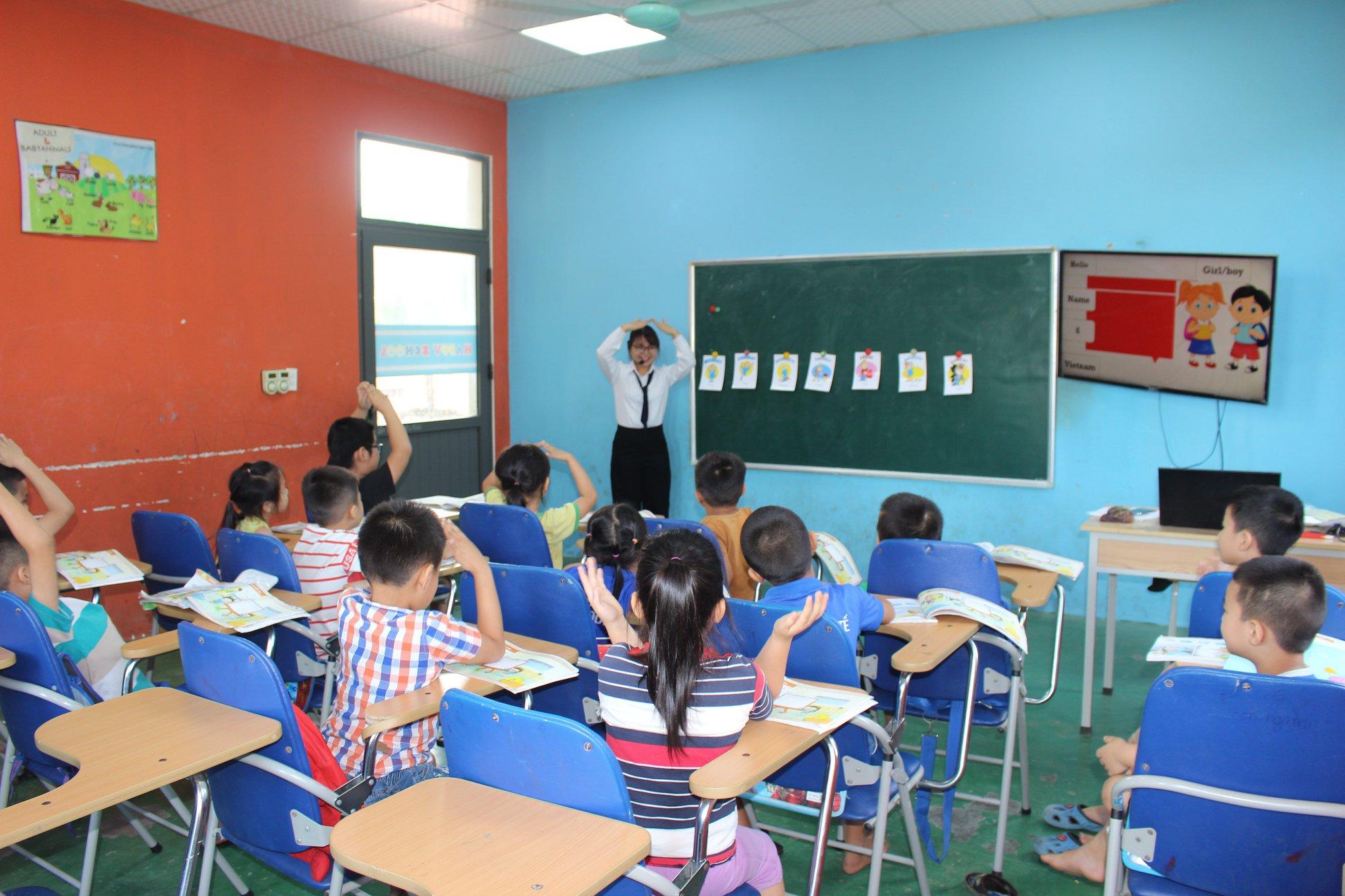 Trung tâm tiếng anh nào cho bé tốt nhất tại Nghi Lộc