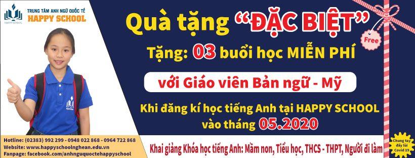 Khóa học tiếng Anh trẻ em uy tín tại Nghi Lộc Happy School