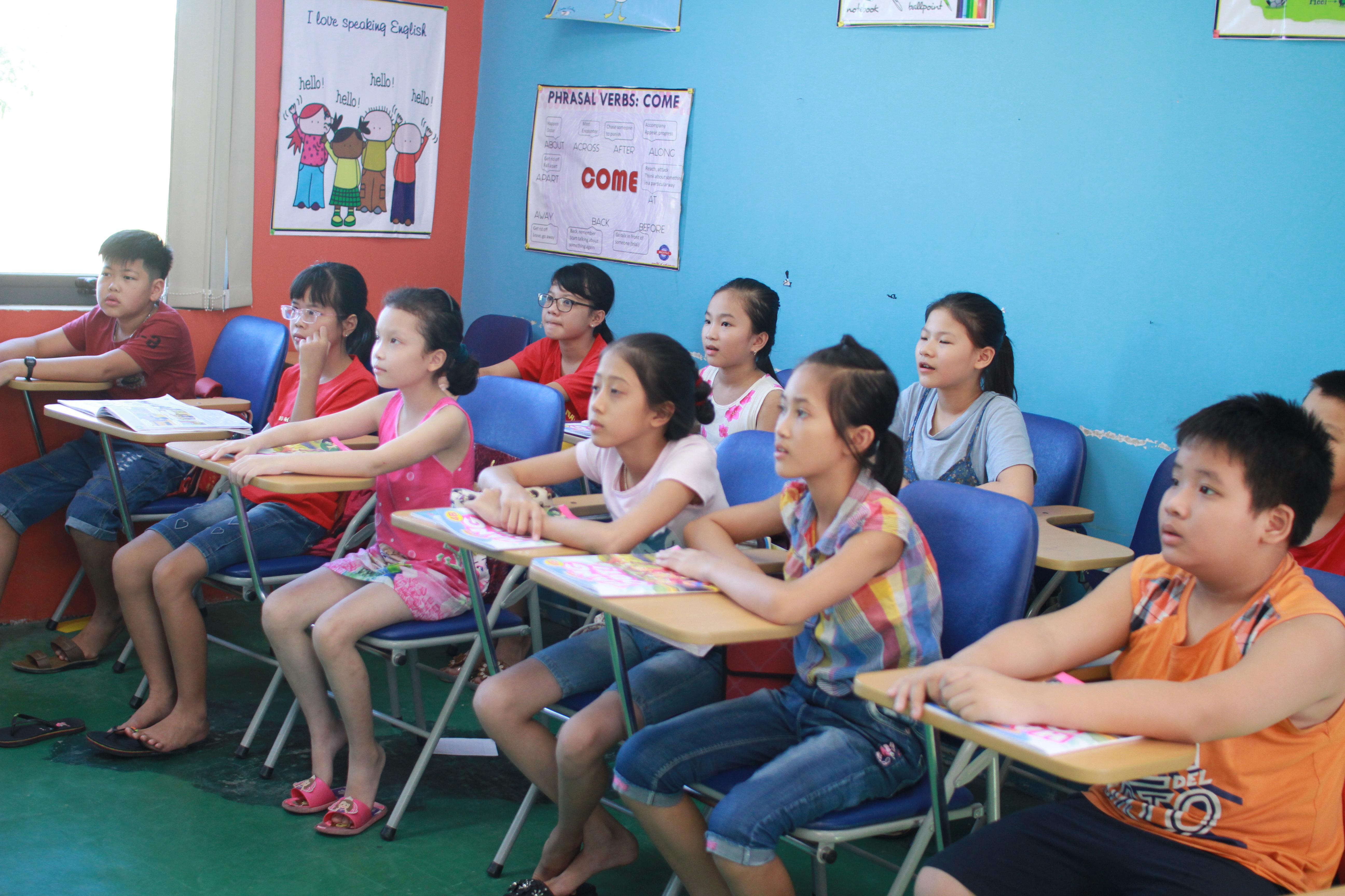 Lợi ích của việc cho bé học tiếng anh tại trung tâm tiếng Anh