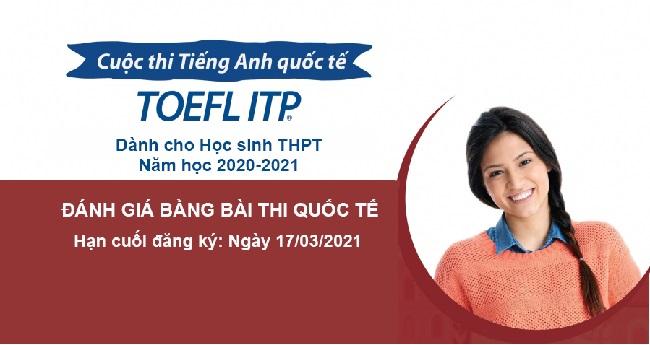 Happy School hướng dẫn dự thi TOEFL ITP dành cho học sinh THPT tại Nghệ An năm học 2020-2021
