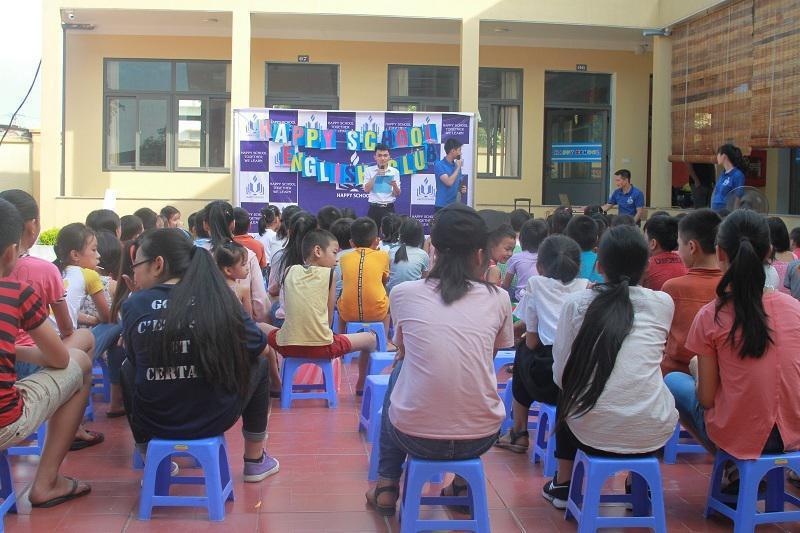 Giao lưu Anh ngữ với Trung tâm Anh ngữ Happy School